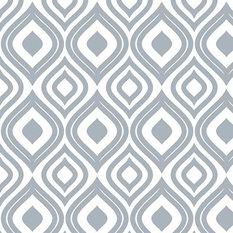 - Ikat in Slate Gray Shelf Paper Drawer Liner, 120x24, Fine Weave Fabric - Drawer & Shelf Liners