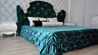 Текстильное оформление спальных комнат