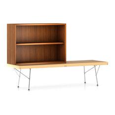 Nelson Medium Bookcase By Herman Miller Walnut