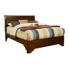 Alpine Furniture, Inc - Chesapeake Sleigh Bed, California King - Sleigh Beds