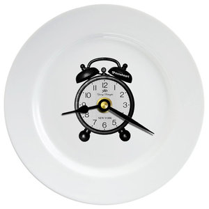 Clock Plate Wall Clock, Small