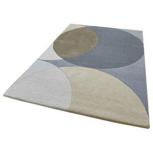 Think Elements Grey Rectangular Rug, 150x230 cm