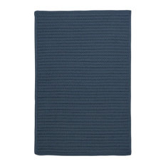 Colonial Mills, Inc - Simply Home Solid Rug, Lake Blue 8'x11' - Outdoor Rugs