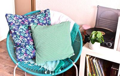 DIY : Fabriquer une housse de coussin sans machine à coudre