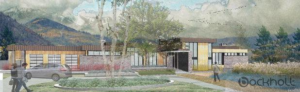 Contemporary Rendering by Bockholt Landscape Architecture