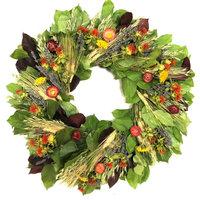 """Summer Breeze Wreath, 22"""""""
