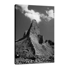 """Chimney Bluff"" Rural Landscape Photo Fine Art Canvas Wall Art Print, 16""x20"""