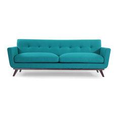 Karl Jackie Clic Sofa Turquoise Material Wool Sofas