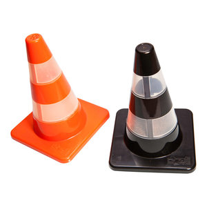 Traffic Cone Salt and Pepper Shakers, Set of 2