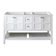 """Winterfell 60"""" Cabinet Only, White"""