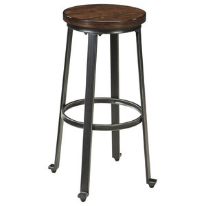 Comfort Pointe Talbert Backless Metal Counter Stool