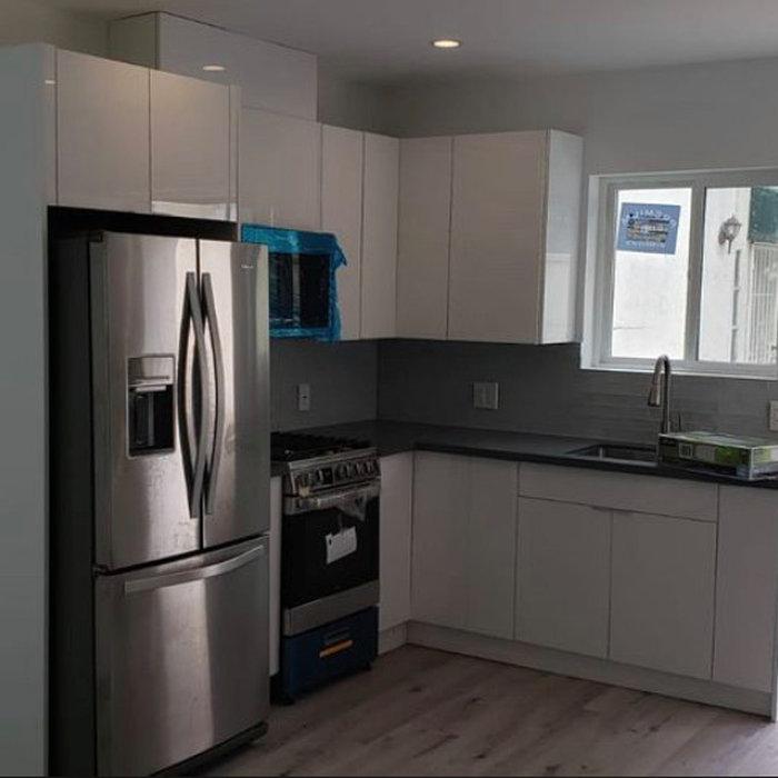 Garage transformation to Kitchen in Valley Glen
