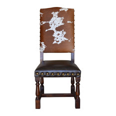 Colton Cowhide Dining Chair, Set of 8