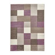 Brooklyn 646 Rug, Beige/Purple - Modern