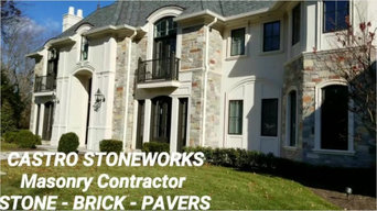 Company Highlight Video by Castro StoneWorks NY - Masonry Contractors