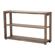Hudson Ferry Console Table Driftwood