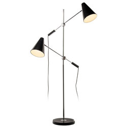 Midcentury Floor Lamps by Dainolite Ltd.