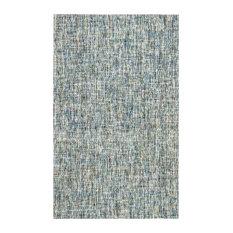 Oshun Flat-Woven Area Rug, Blue, 8'x10'