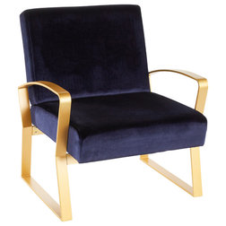 Contemporary Armchairs And Accent Chairs by VirVentures