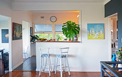 My Houzz: Bohemian Eclectic Flair for a 1960s Coastal Home
