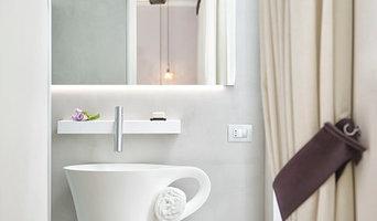 Ristrutturazione bagni  hotel in Microcemento