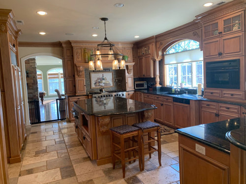 Can This Traditional Tuscan Kitchen Be Updated W Minimal Cost