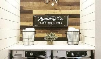 @preppy_farmgirl, neutral tones, laundry room