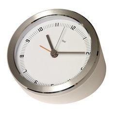 """Bai 4"""" Blanco Executive Alarm Clock Dot Zero"""