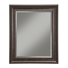 Bay   Raina Wall Mirror, Oil Rubbed Bronze   Bathroom Mirrors