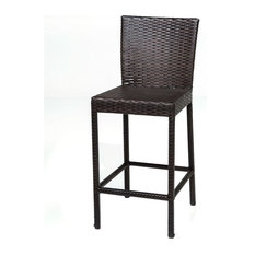 tk classics tkc napa outdoor wicker bar stools in espresso set of 2 source furniture side