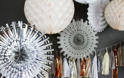 Shop Houzz: Up to 40% Off New Year's Party Must-Haves