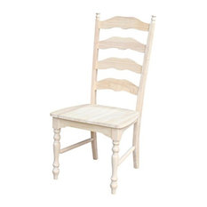International Concepts Maine Ladderback Chairs Set Of 2