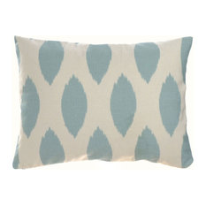 "Roundel Blue Pillow/Travel Case 12""x16"", Cotton and Linen"