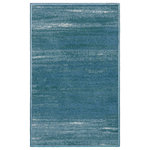 Evolur - Evolur Home Cape May Waterfall Nursery Rug, Waterfall - Add a touch of drama to your space with this artistry and elegant coastal living inspired rug. This Cape May rug is reminiscent of a bright summer's day when the sun shines happily on a cool blue ocean wave and the cries of sea gulls taking wing on the warm ocean breeze. This rug can pair with Evolur cribs or toddler beds transforming your baby nursery into a seaside sanctuary. Each patterns is achieved thought the vibrant blends and chromo jet print. The Nylon material with tightly tufted loops makes this rug soft underfoot, yet durable enough for any high traffic area in your home. The Cape May is an excellent choice to be place in any bedroom, entryway or living space. This rug will resonate to a mom's coastal elegant sense.