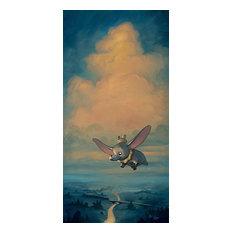 Disney Fine Art, Joy of Flight, Rob Kaz, Rolled