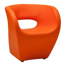 Premier Housewares   Aldo Chair, Orange   Armchairs U0026 Accent Chairs