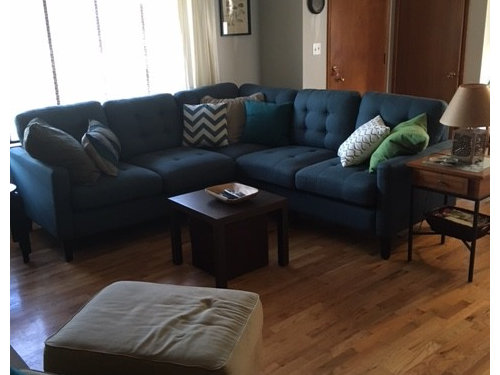 Mid Century Living Room Rug Dilema