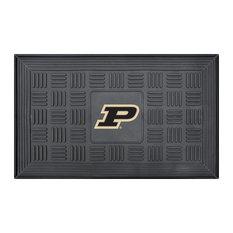 Purdue 'P' Medallion Door Mat