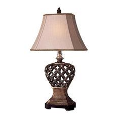 Minka Lavery 1 Light Table Lamp - Brown/Gold