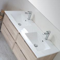 Box 4-Drawer Bathroom Vanity Unit, Cambrian Finish, 120 cm
