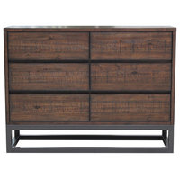 Modern Industrial Drawer Dresser