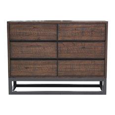 Modern Industrial Drawer Dresser