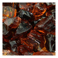 """Crushed Fire Glass 