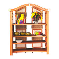 Spice Island Small Etagere, Natural