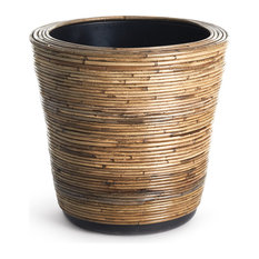 """Wrapped Dry Basket Planter, 17.75"""""""
