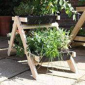 Mini A-Frame Vegetable Garden