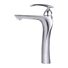 Twist Chrome-Plated Bathroom Sink Mixer Tap