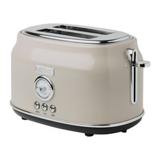Haden Dorset 2 Slice, Wide Slot, Stainless Steel Toaster
