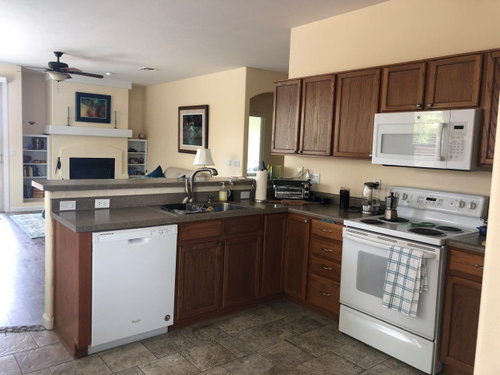 30 Vs 36 Upper Kitchen Cabinets 9 Ceiling, 36 Inch Cabinet