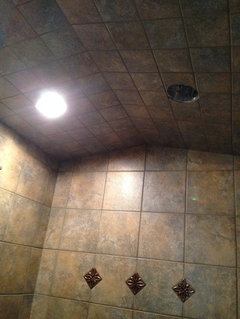 Steam Shower Ceiling With No Slope